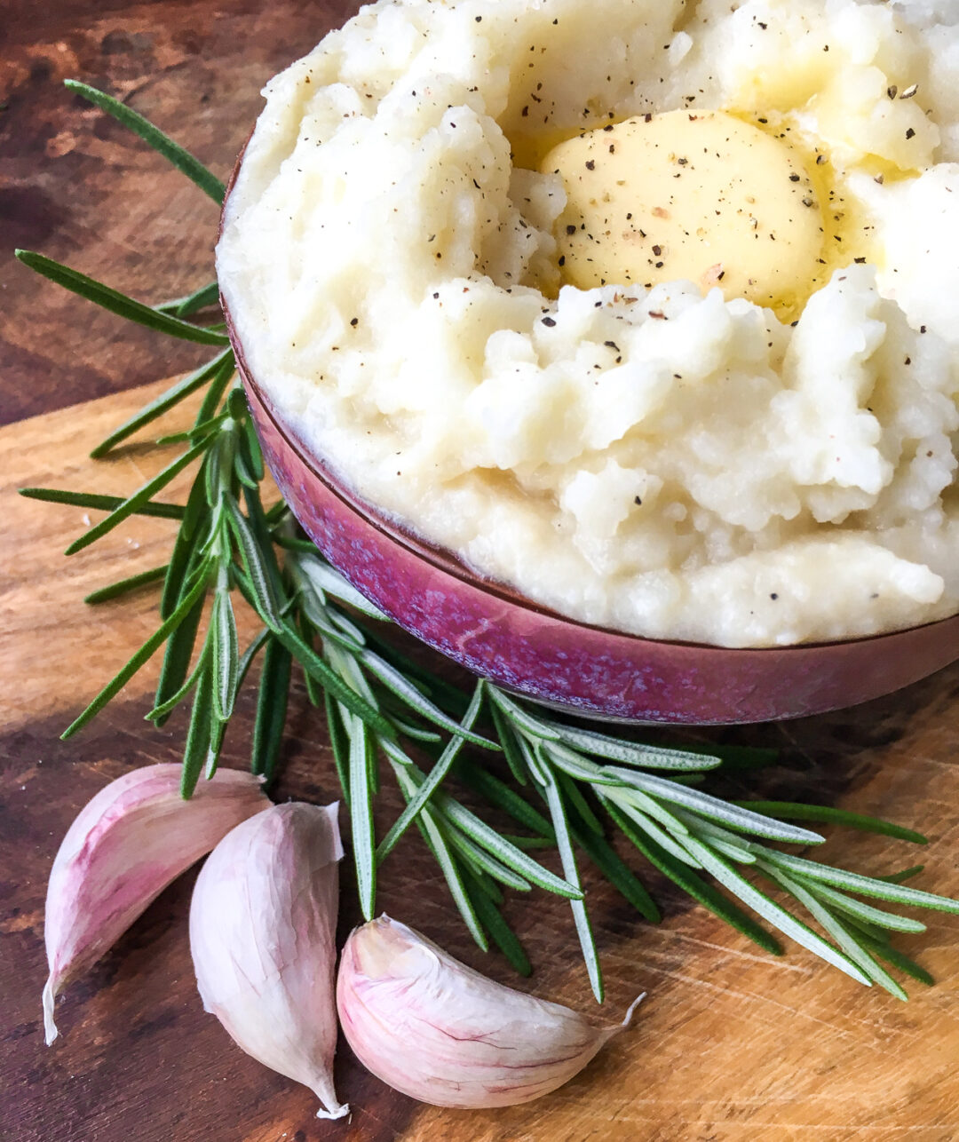 Instant Pot Rosemary Garlic Mashed Potatoes