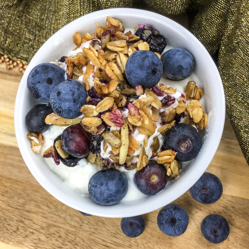 Blueberry and Almond Granola