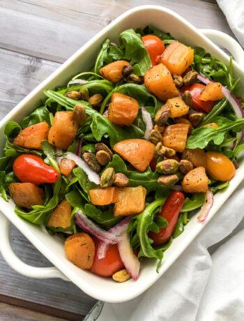 Roasted Golden Beet Salad