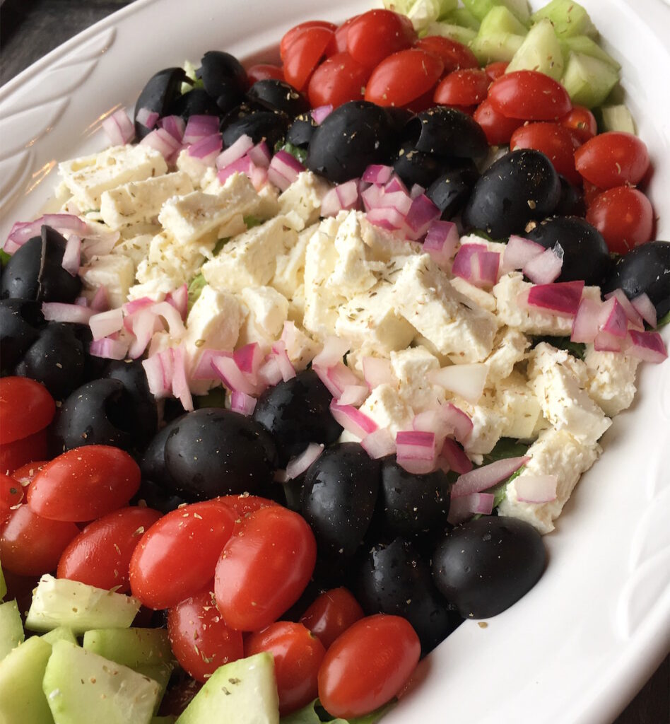 Vegetarian Traditional Greek Salad
