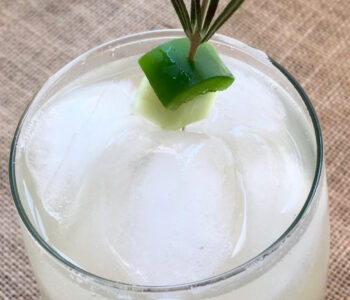 Cucumber Jalapeno Lemonade
