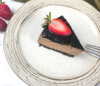 Instant Pot Chocolate Cheesecake