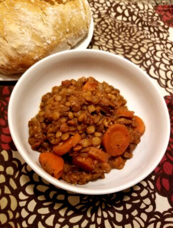 Hearty Vegan Lentil Soup