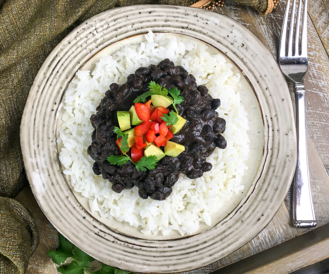 Vegan Instant Pot Beans & Rice