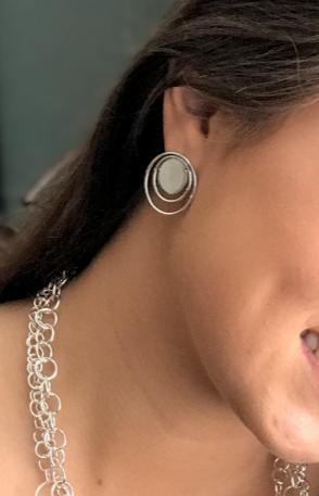 Bella Circle Me Earrings