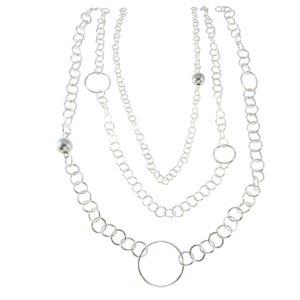 Bella Ball and Circles Necklace