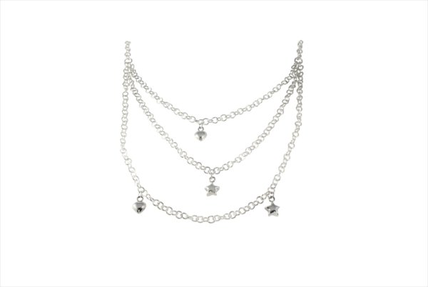 Bella Heart and Stars Necklace