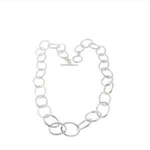 Bella Shimmer Ovals Necklace