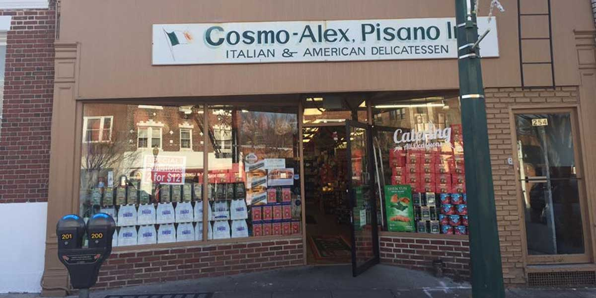 Welcome to the Cosmo Alex Salumeria!
