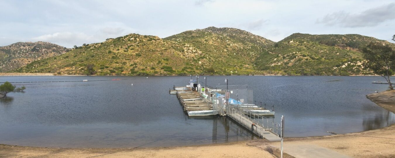 lake poway boat dock