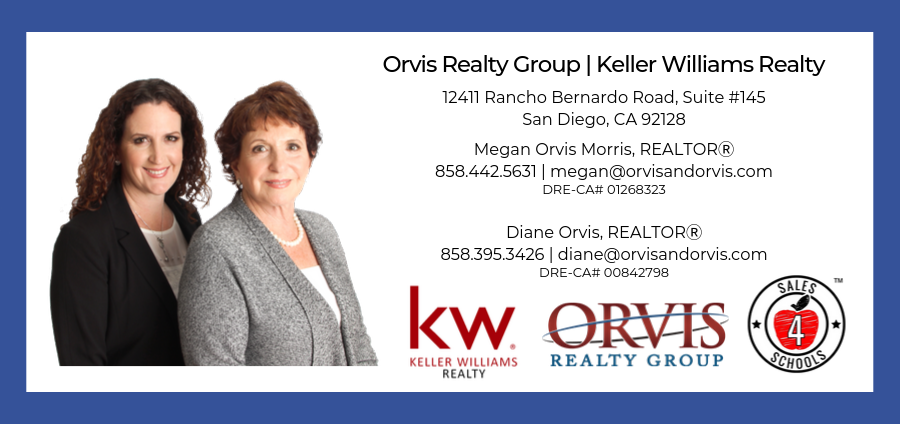 Megan Orvis Morris, REALTOR, and Diane Orvis, REALTOR, Orvis Realty Group, Keller Williams Realty
