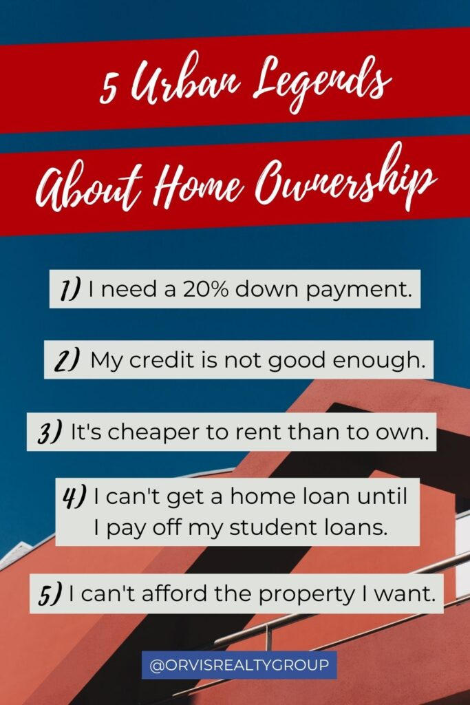 5 Urban Legends About Home Ownership - Real Estate Mom Blog