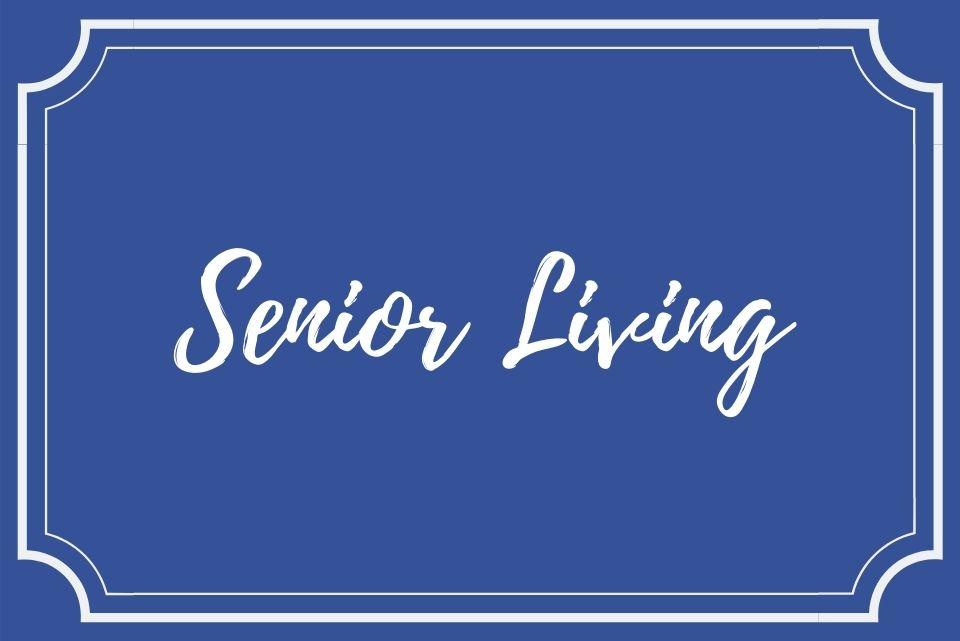 senior living button