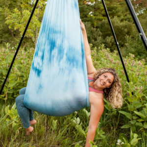 Monday 6:45-7:45pm Aerial Yoga Foundations