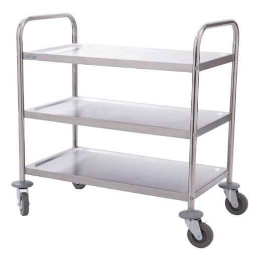 3 Tier Trolley Stainless Steel