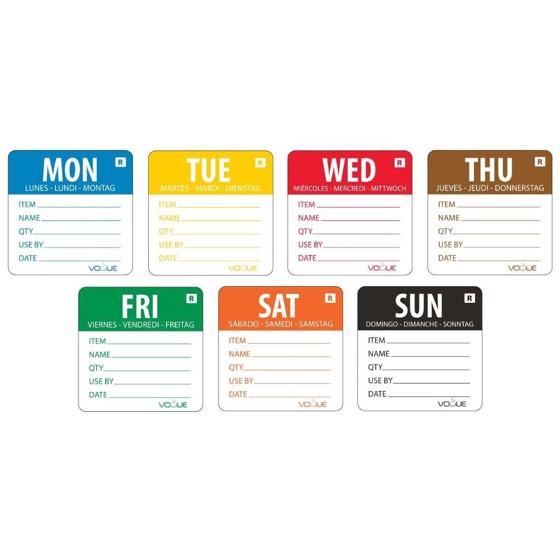 Day/Week Prepared Set 7