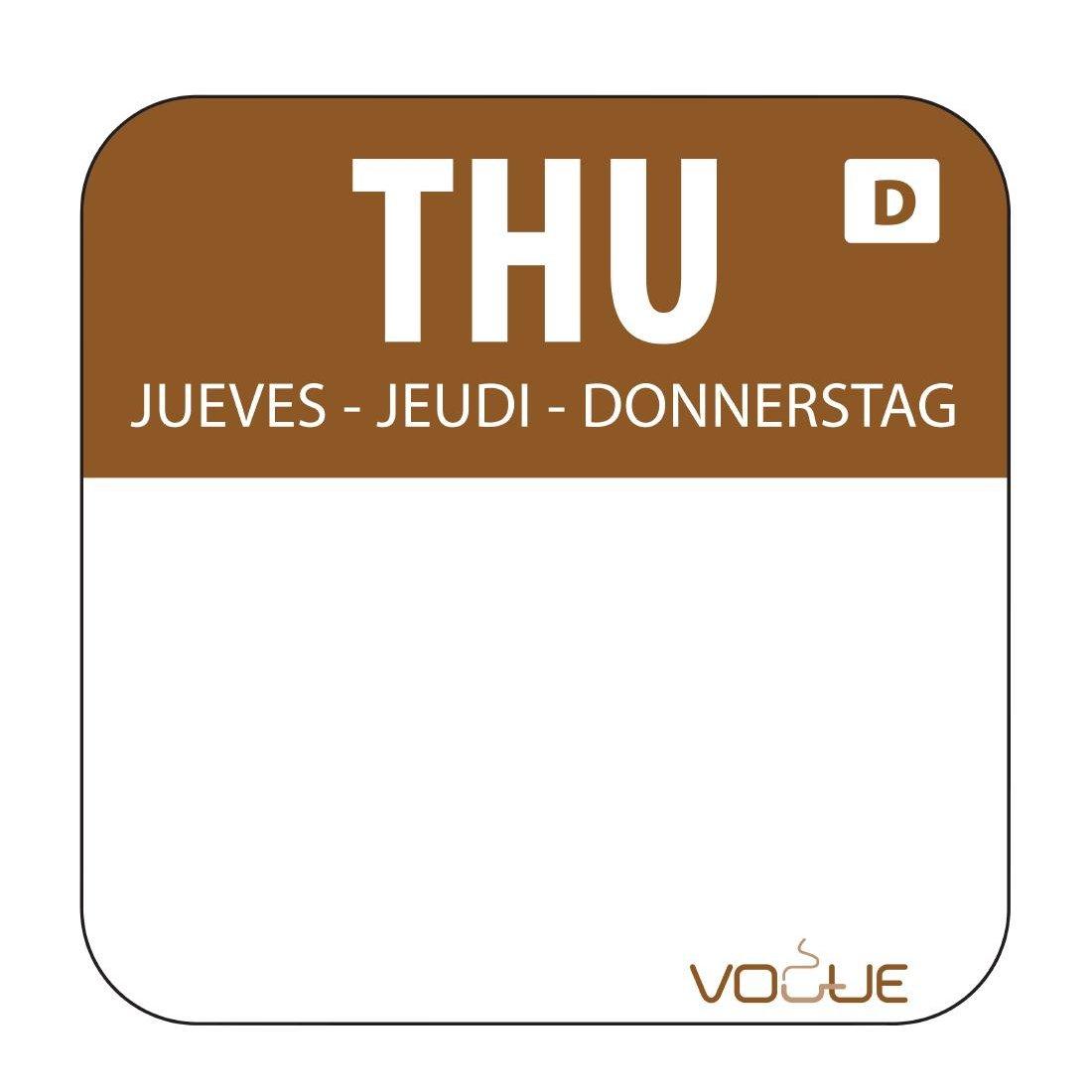 Thursday Food Labels
