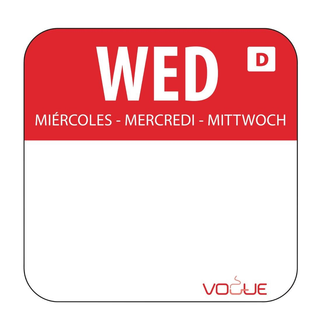 Wednesday Food Labels