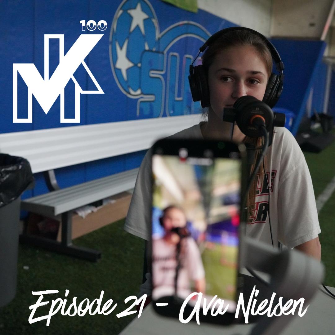 Episode 21, The Mike Kaplan 100 Pod: Ava Nielsen.