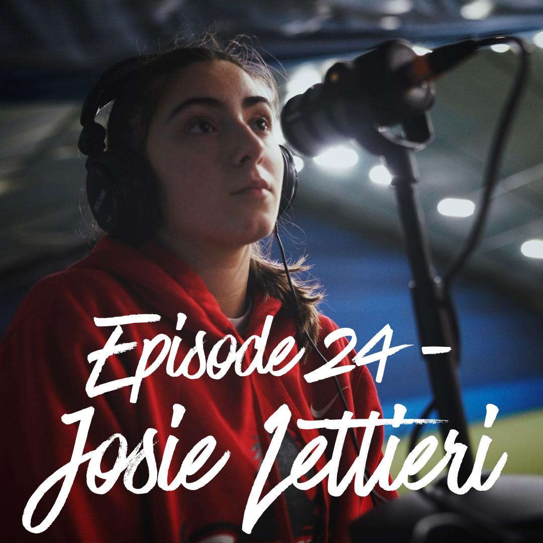 Episode 24, The Mike Kaplan 100 Pod: Josie Lettieri.