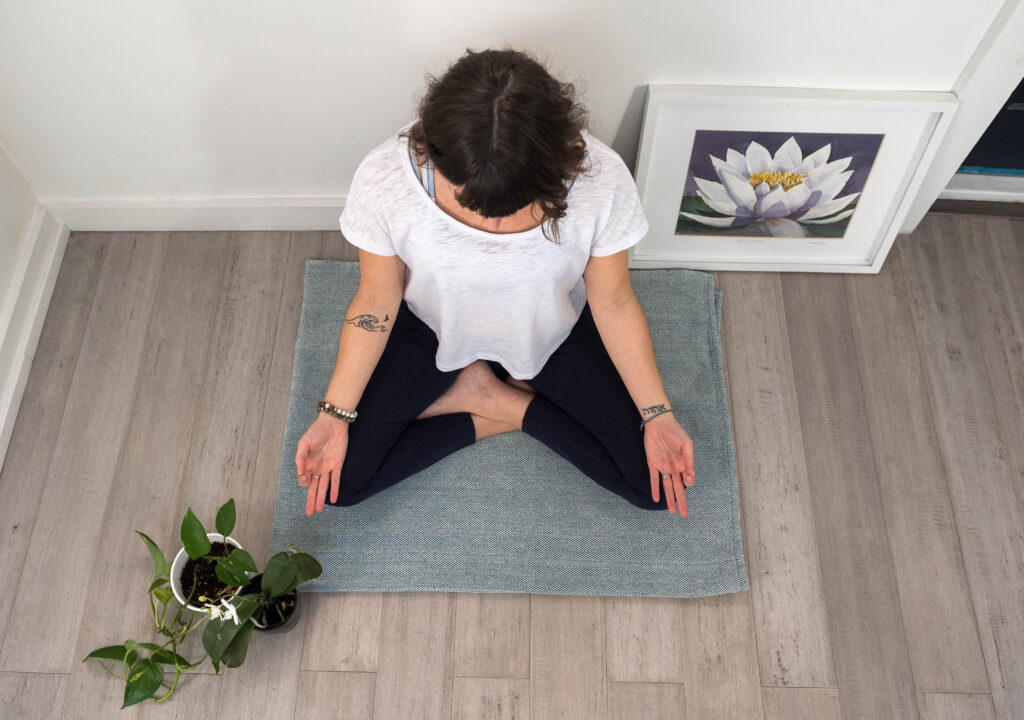 Yoga for Mental Well-Being - Meditation