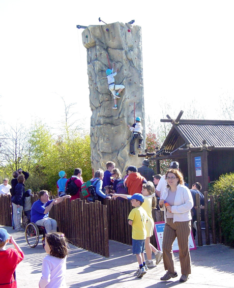 Amusement Park Climbing Tower