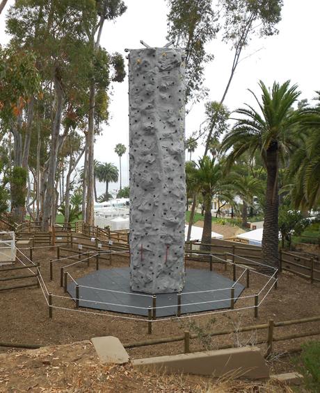 Adventure Park Climbing Tower