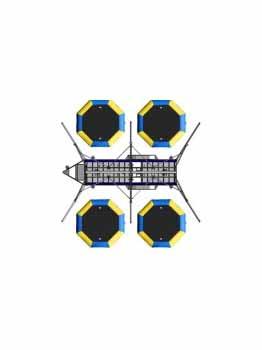V4 Ultimate Bungee Trampoline