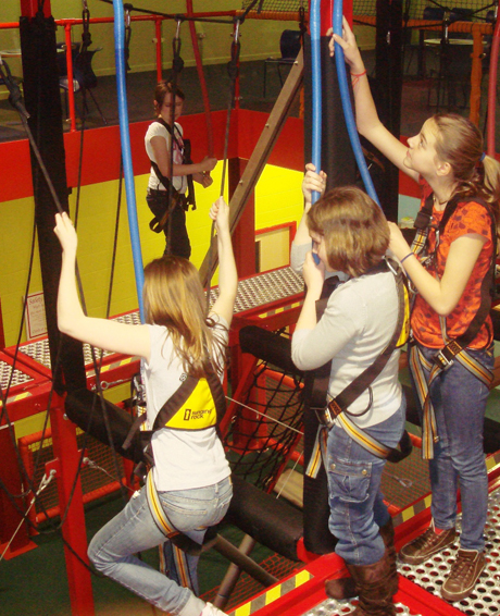 Indoor Ropes Course