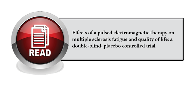 120 - Effects of a pulsed electromagnetic therapy on multiple sclerosis fatigue and quality of life: a double-blind, placebo controlled trial