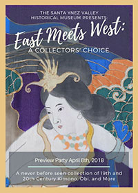 EAST MEETS WEST: A Collectors' Choice 19th and 20th Century Kimono, Obi, and More