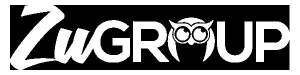 zu group logo white