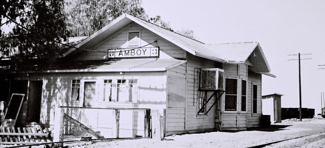 A home in Amboy California, on old route 66