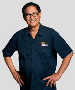 Presenting Albert Okura Owner of Roy's Motel & Café