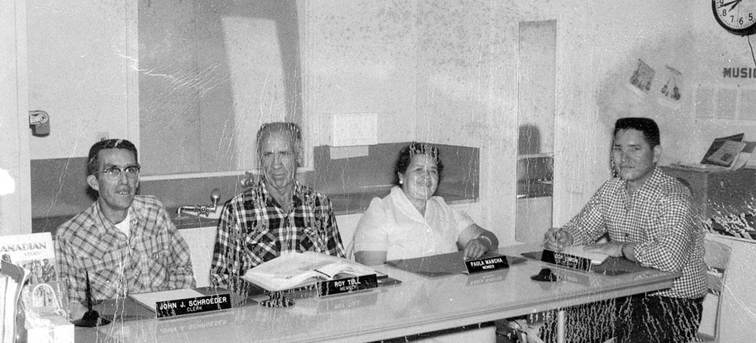 Amboy School Board 1950s