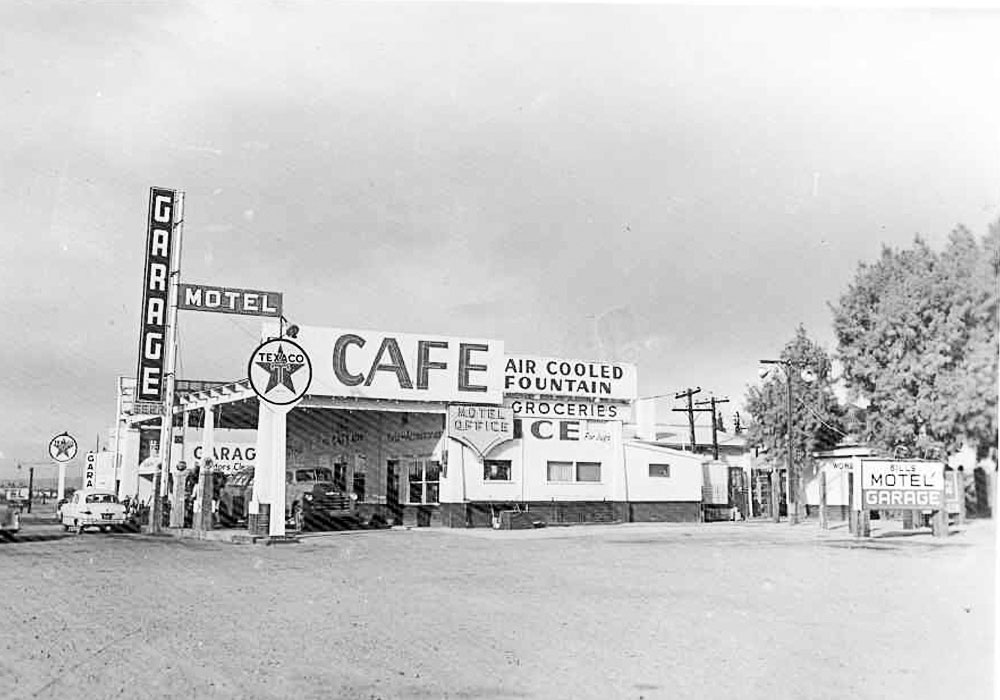 Bill Lee's Texaco Station, Route 66