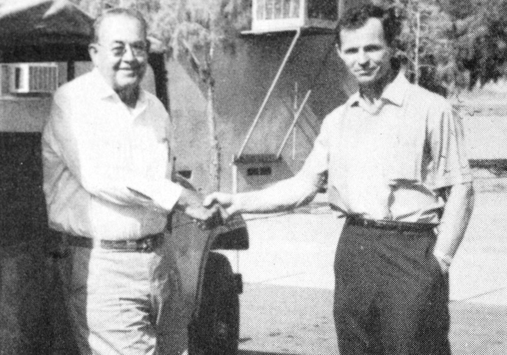 Roy Crowl and Fred Ansiel