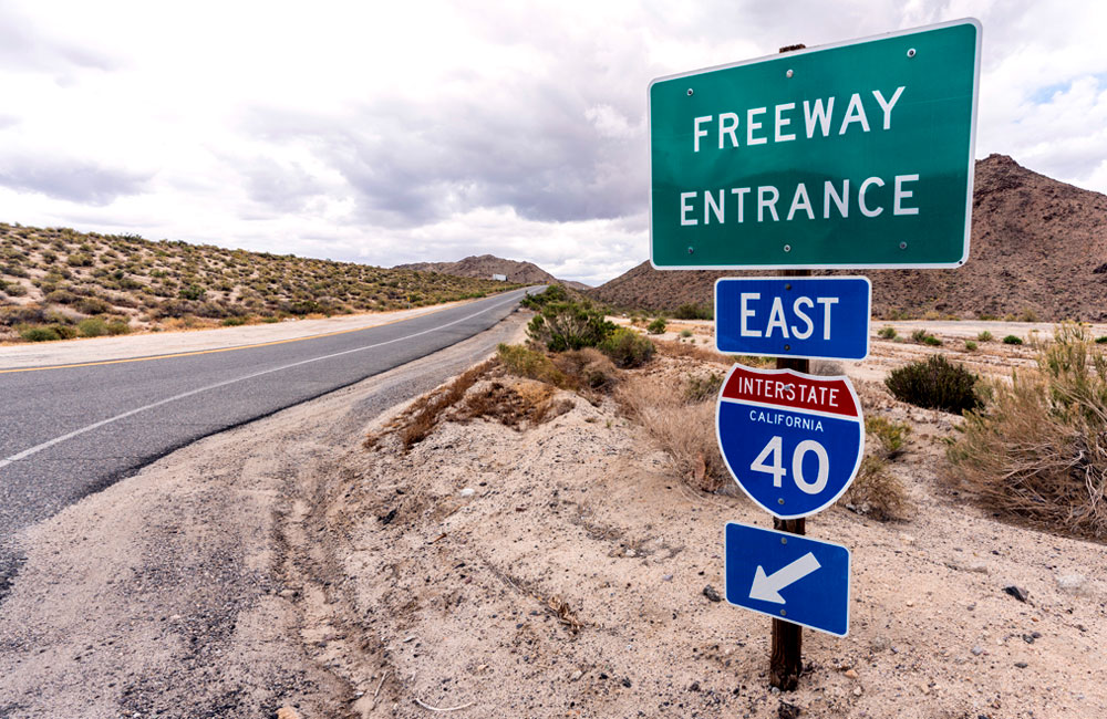 Interstate 40 Opening