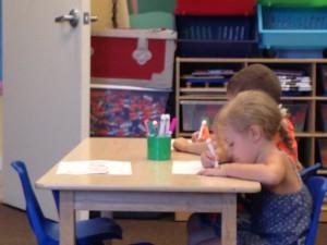 Already hard at work!