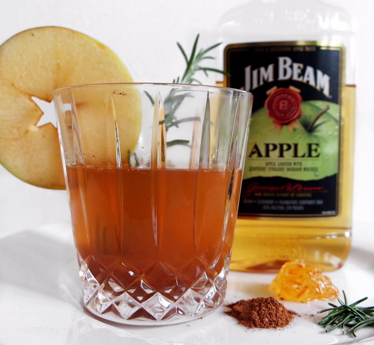 Jim Beam Apple Cocktail -- Miss Foodie Problems