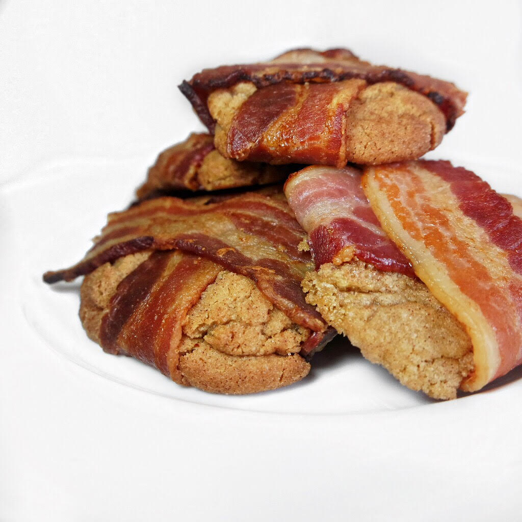 bacon wrapped snickerdoodle