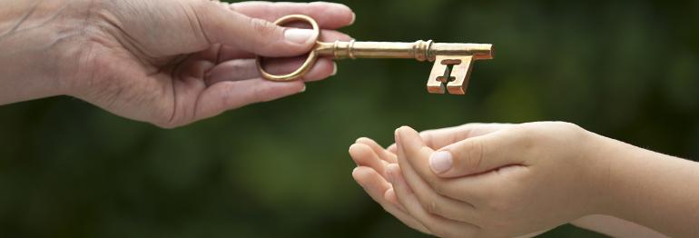 passing a key