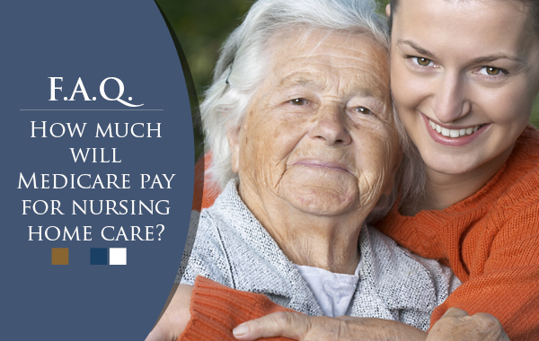 How much will Medicare pay for nursing home care?