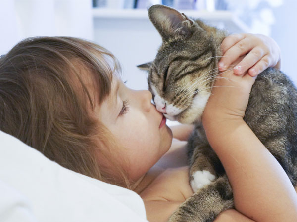 Cats May Help Improve Empathy, Anxiety for Kids with Autism