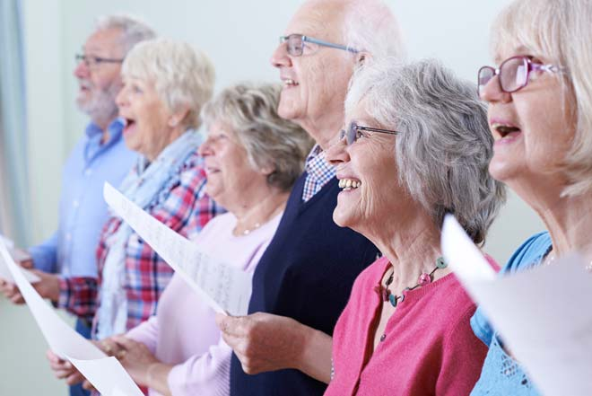 Choir Singing Can Improve Cognitive Function in the Elderly