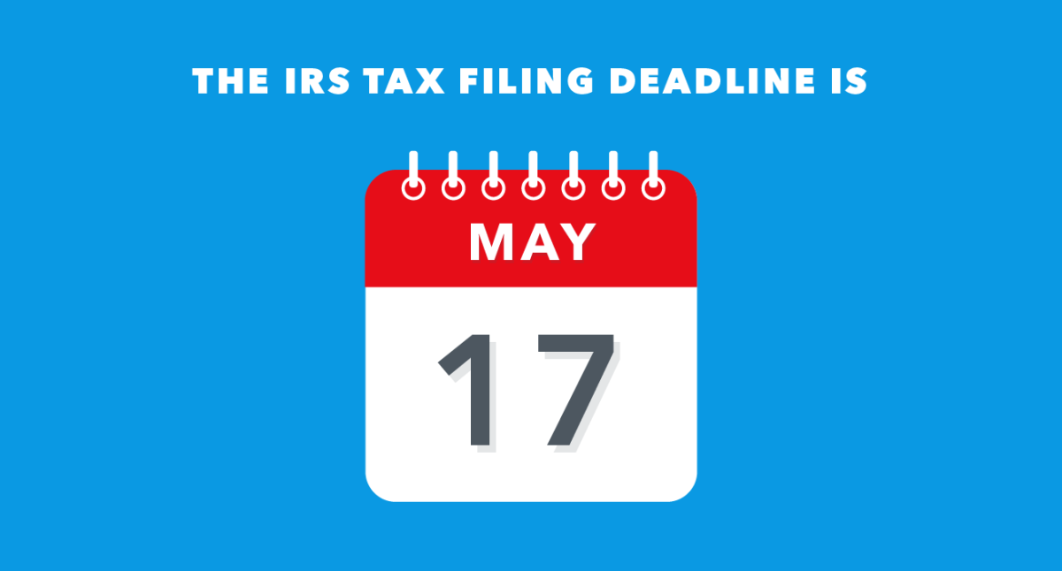Individual Tax Deadline Extended to May 17 for 2020 Returns