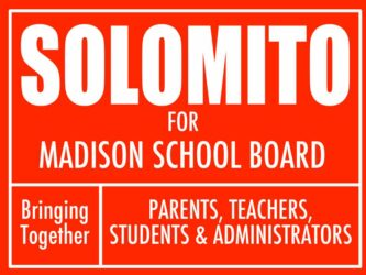 SOLOMITO for MADISON SCHOOL BOARD