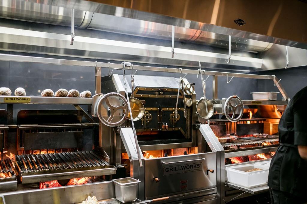 Prime + Proper Restaurant - custom grill - Detroit