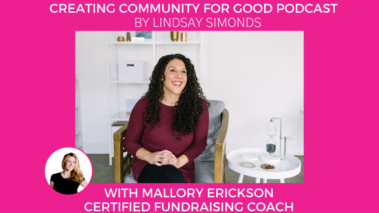 Mallory Erickson   A New Way to Fundraise   Certified Fundraising Coach