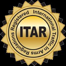 ITAR Registered Manufacturer - LOGO
